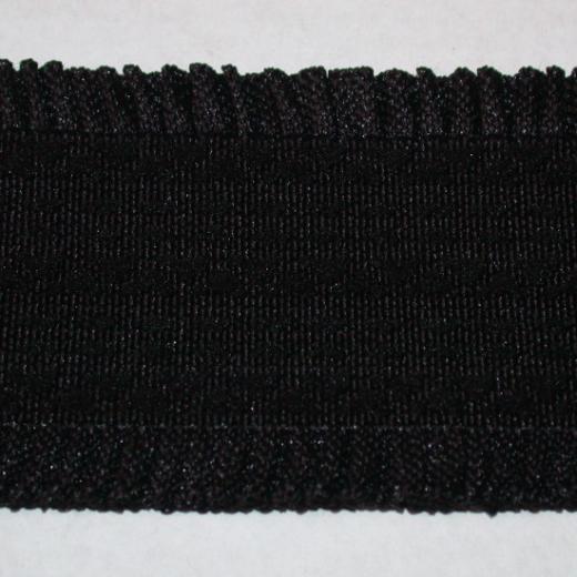 Elastisches Gurtband 60 mm - gerüscht