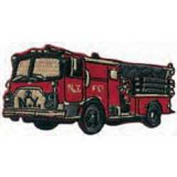 Applique Fire Truck