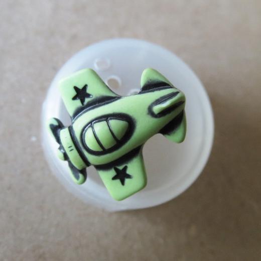 Knopf Kunststoff - 18 mm
