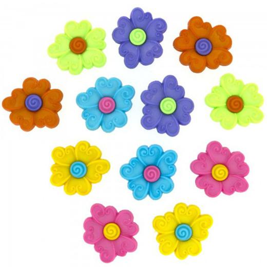 Dress It Up - Bunte Blumen