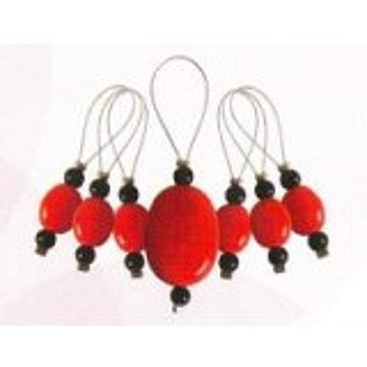 Knit Pro Stitch Markers - Tangerine