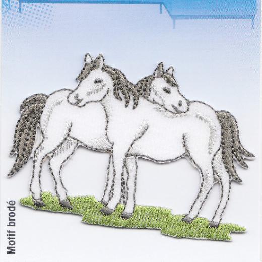 Applique Two Horses