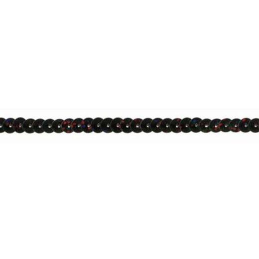 Sequin Trim Iridescent - black