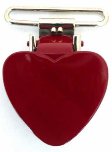 Heart Suspender Clips