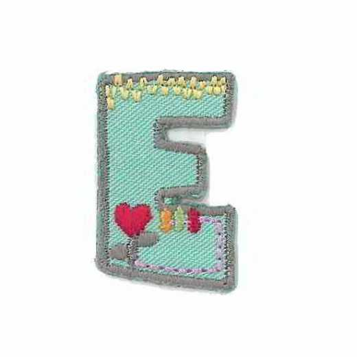 Applique Letter E