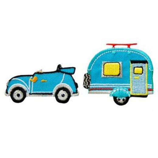Applikation Cabrio mit Wohnwagen