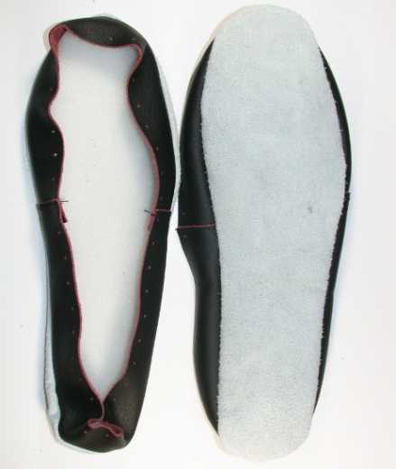 Leather Soles for Slippers - approx. 27,0 cm
