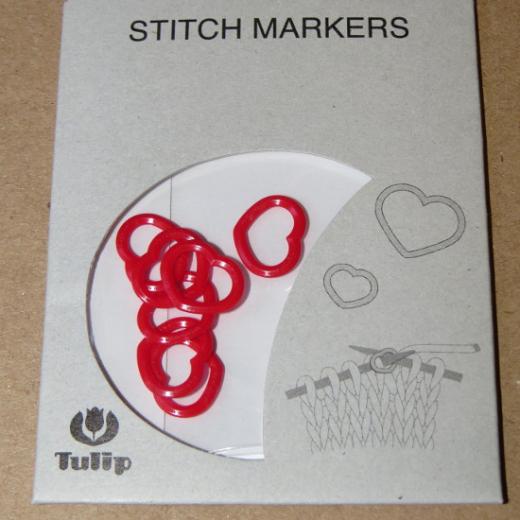 Tulip Stitch Markers - Heart M