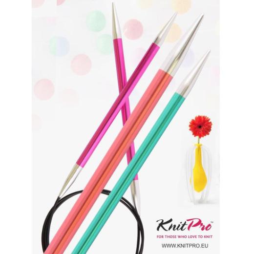 Knit Pro Rundstricknadel Zing 8,0 - 40 cm