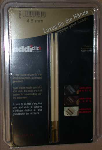 addiClick Tips Bamboo - 3,75 (US 5)