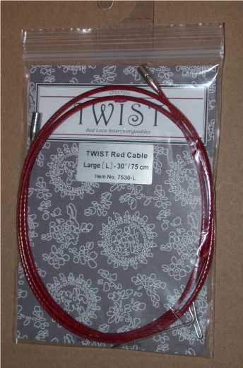 ChiaoGoo Twist Seil rot - S 35 cm