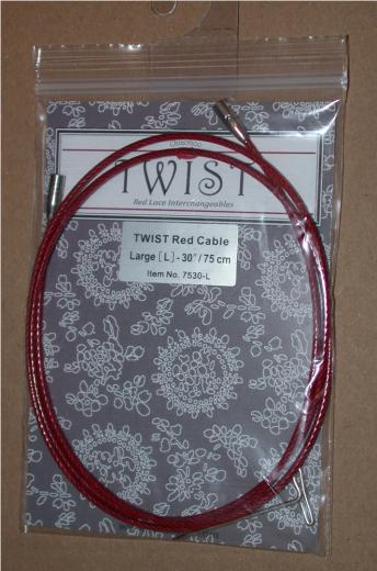 ChiaoGoo Twist Seil rot - L 75 cm