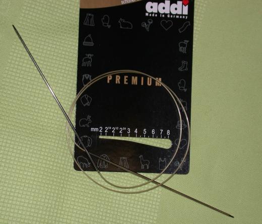 addi Rundstricknadel Premium 9,0 - 120 cm