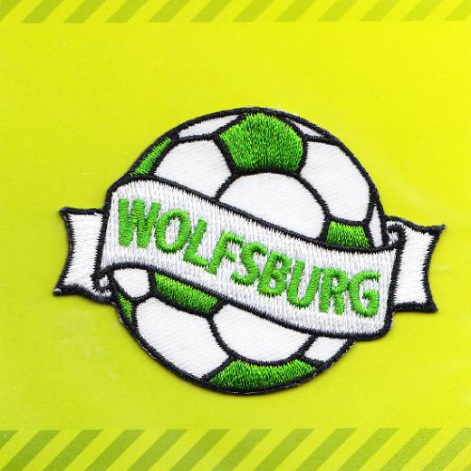 Applique Soccer Team Wolfsburg