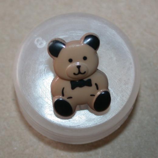 Knopf Kunststoff - 13 mm