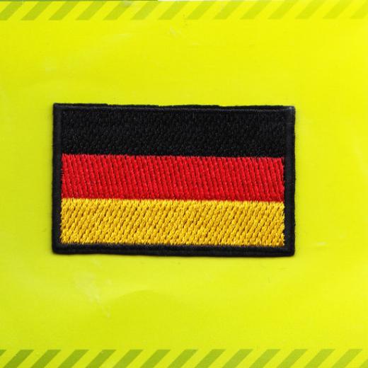 Applikation Flagge Deutschland