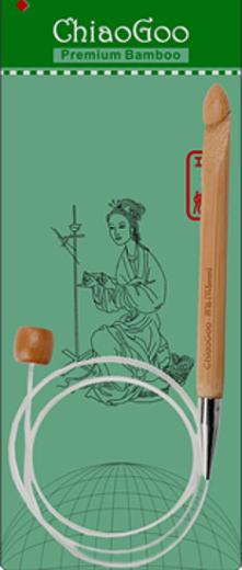 ChiaoGoo Flex Crochet Hook 60 cm - 4,0 mm (US G-6)