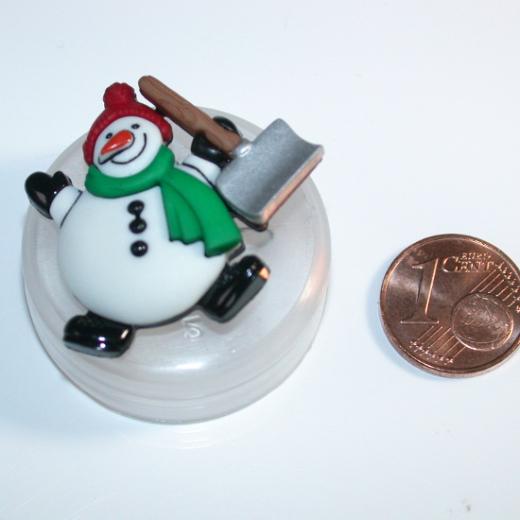 Knopf Kunststoff - 35 mm