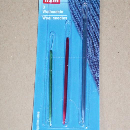 Prym Wool Needles - aluminum