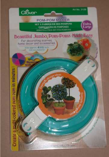 Clover Jumbo Pompom Maker
