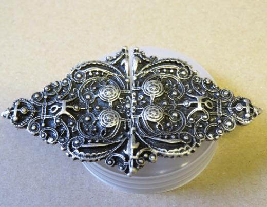 Ornamentverschluss Rhombus