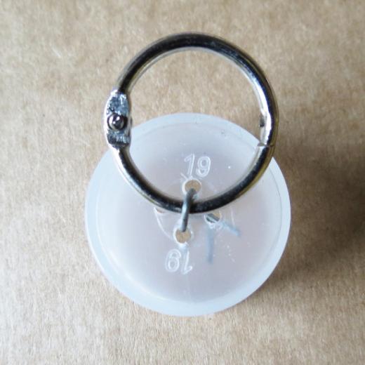 Schlüsselringe Metall 20 mm