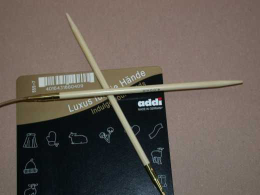 addi Rundstricknadel Bambus 3,25 - 50 cm