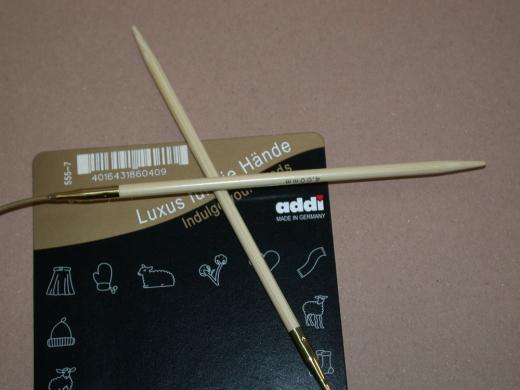 addi Rundstricknadel Bambus 6,5 - 80 cm