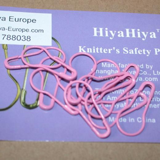 HiyaHiya Safety Pin Stitch Markers - pink