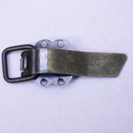 Metallclip schmal altmessing 40 mm