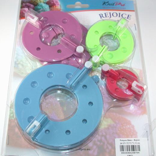 Knit Pro Rejoice Pompon Set