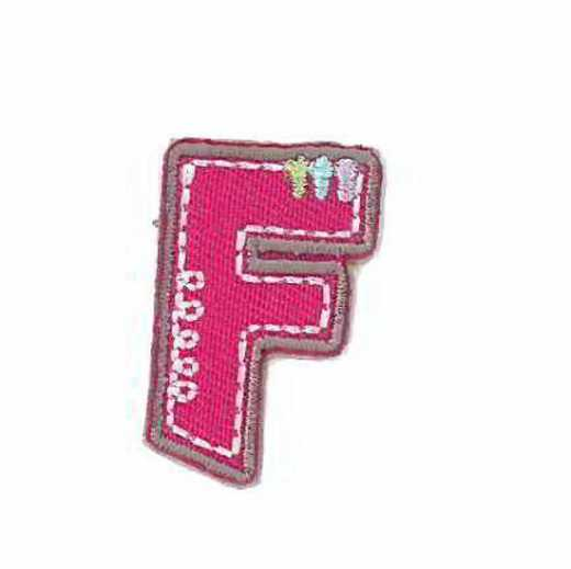 Applique Letter F