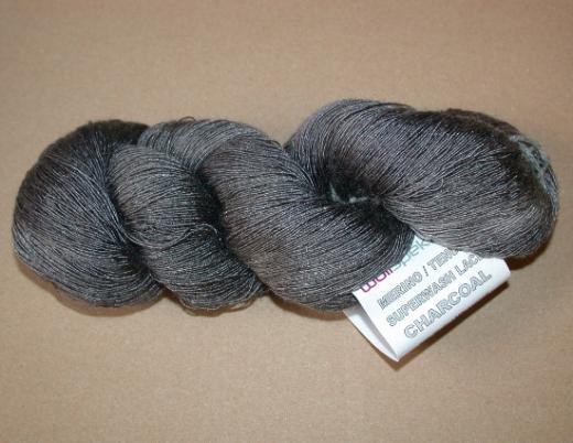 HPKY Merino Tencel Lace - Charcoal