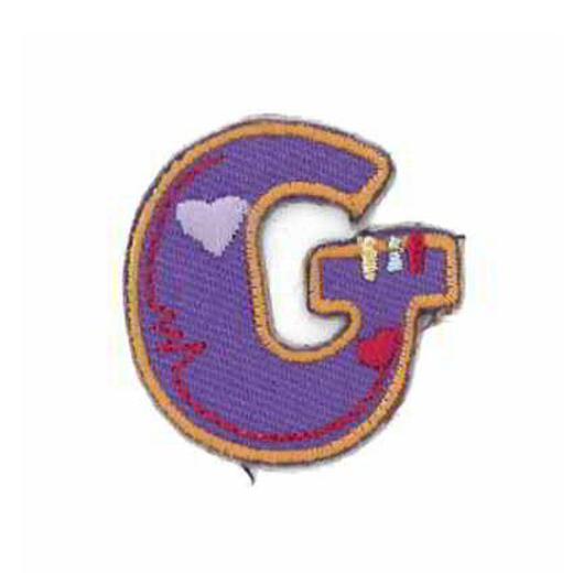 Applique Letter G