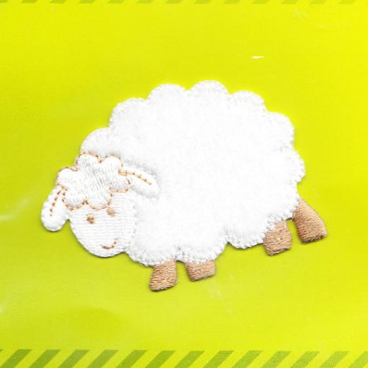 Applique White Sheep