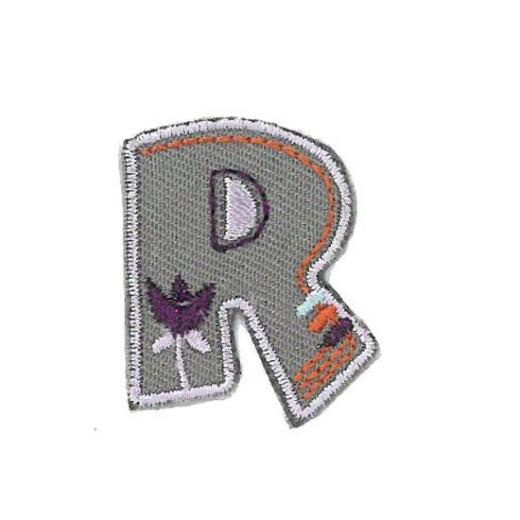 Applique Letter R