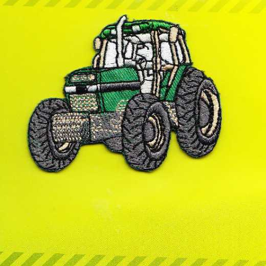 Applikation Traktor - grün