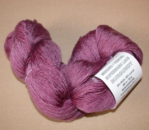 HPKY Merino Tencel Lace - Burgundy