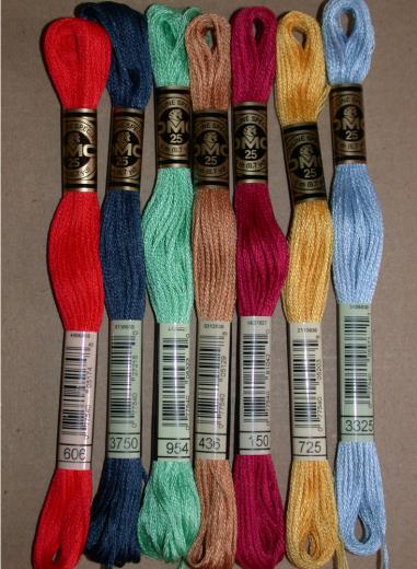DMC Embroidery thread 125