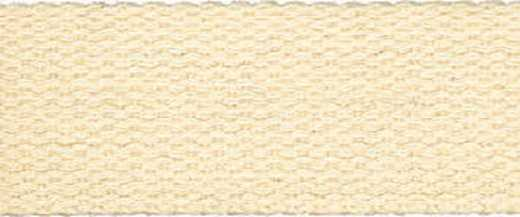 Baumwoll-Gurtband 25 mm - beige