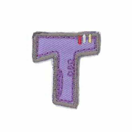 Applique Letter T