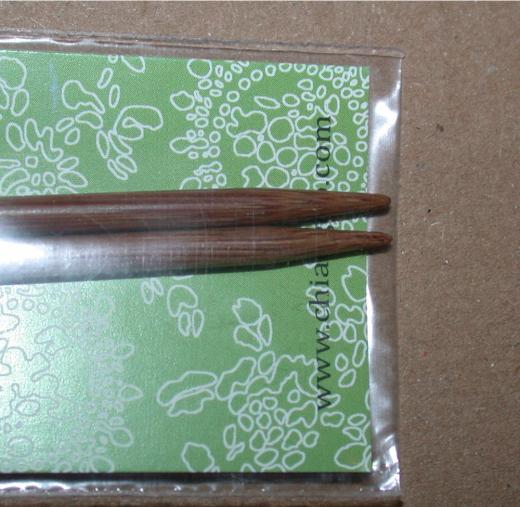 ChiaoGoo 5 Tips Spin Bamboo 7,0 (US 10.75)