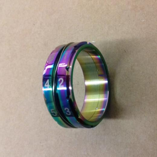 Counter Ring regenbogen Gr. 9