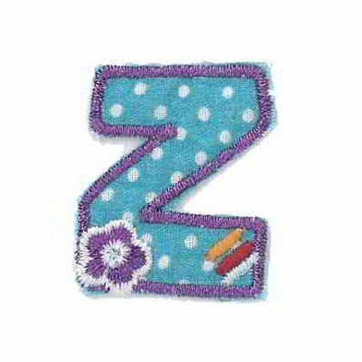 Applique Letter Z