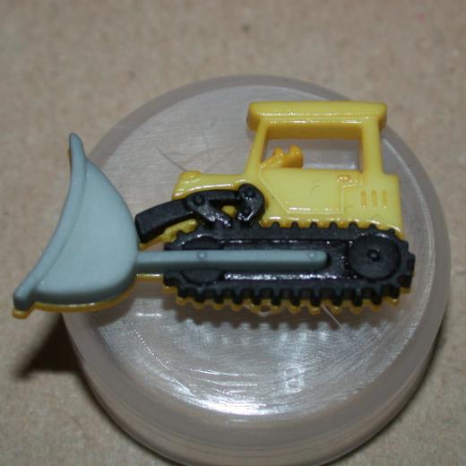 Knopf Kunststoff - 30 mm