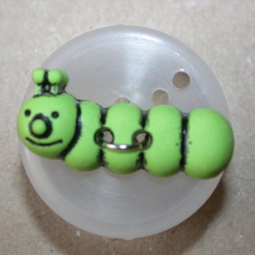 Knopf Kunststoff - 25 x 10 mm