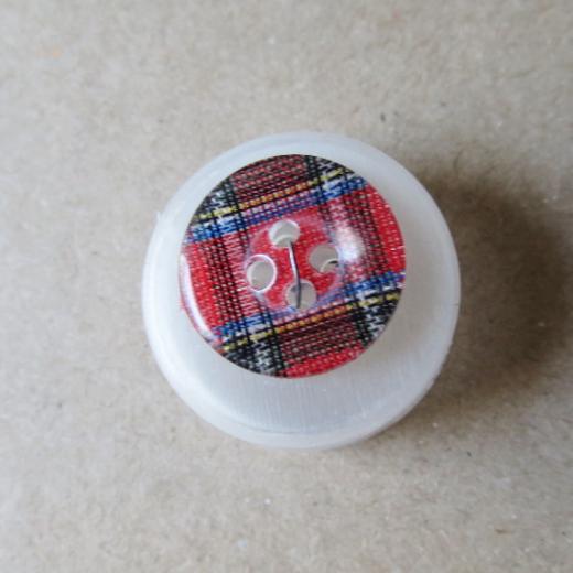Knopf Kunststoff - 15 mm