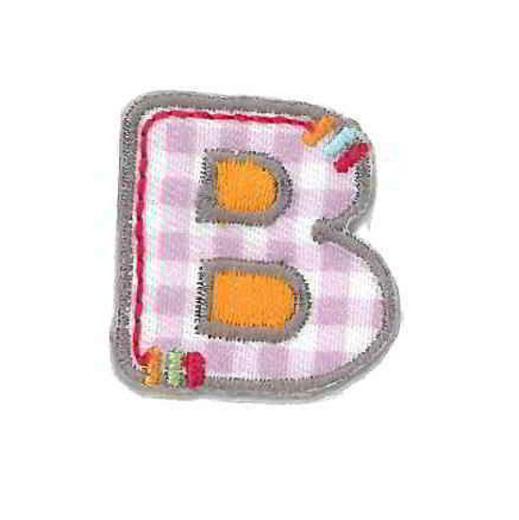 Applique Letter B