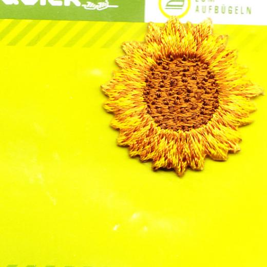 Applikation Sonnenblume