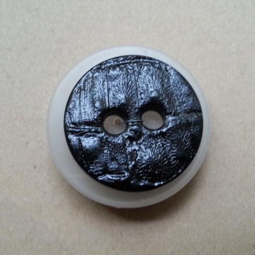 Knopf Kunststoff - 36 mm